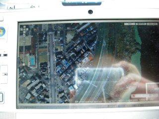 航空写真でナビ